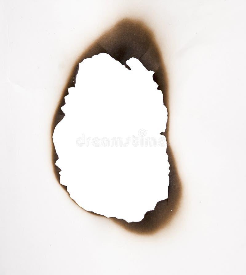 Furo queimado imagens de stock royalty free