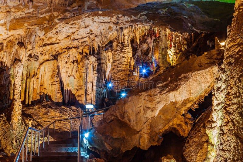 Furong jama w Wulong krasu geologii Krajowym parku, Chiny obraz royalty free