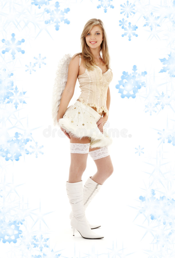 Download Furry Skirt Angel Stock Images - Image: 6209164