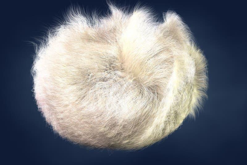 Furry White Egg