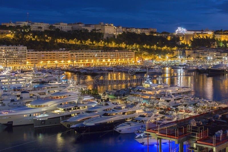 Furstendöme av Monaco - franska Riviera royaltyfri bild