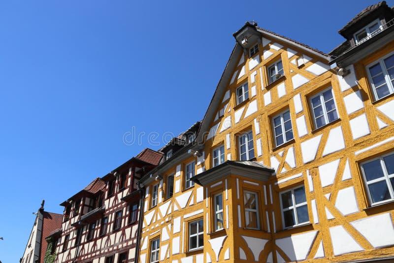 Furth - Marktplatz fotografie stock