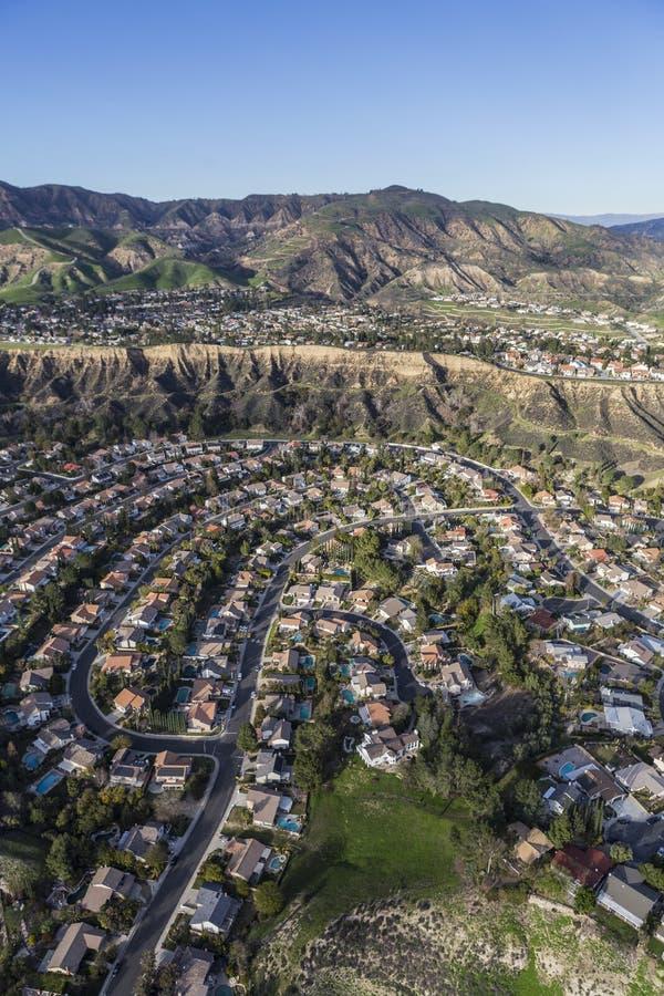 Furtianu rancho Kalifornia widok z lotu ptaka obrazy royalty free