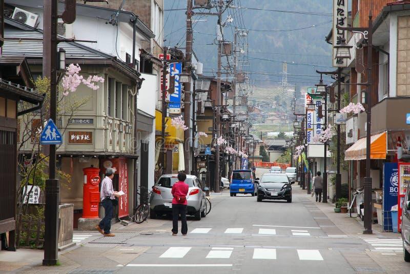 Furukawa-Hida, Japon images libres de droits