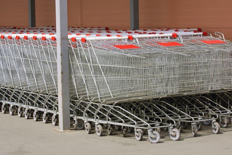 Fury przechują, supermarket obraz stock