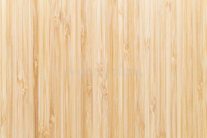 Fusão da superfície do bambu para o fundo, paneling de madeira do marrom da vista superior imagem de stock