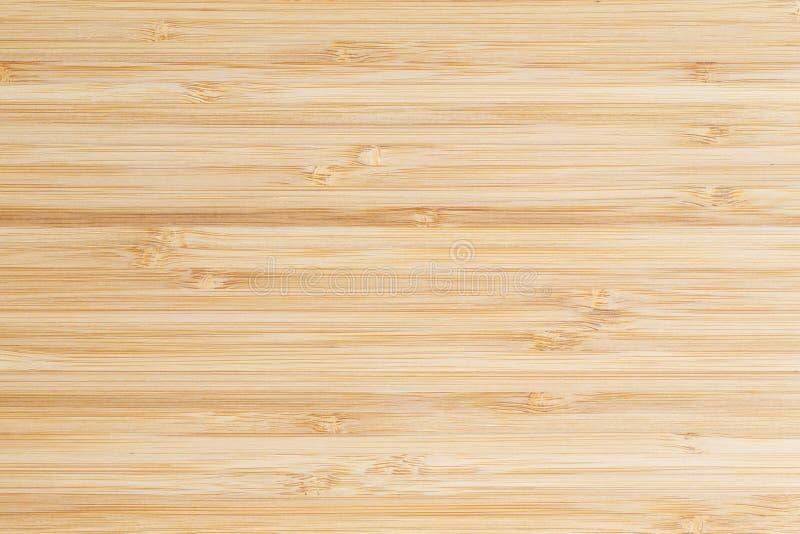 Fusão da superfície do bambu para o fundo, paneling de madeira do marrom da vista superior fotografia de stock royalty free