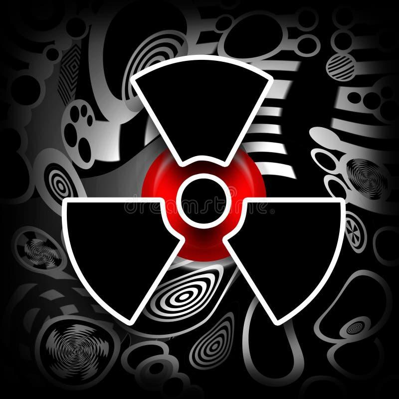 Fusão nuclear ilustração do vetor
