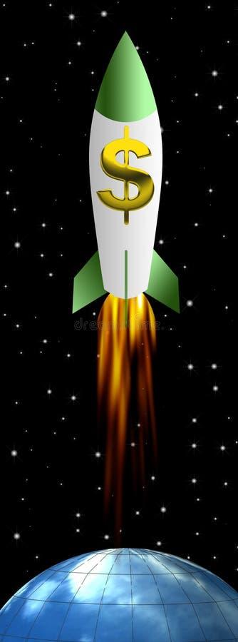 fusée illustration de vecteur