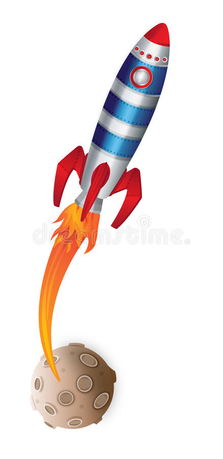 Fusée d'espace photo libre de droits