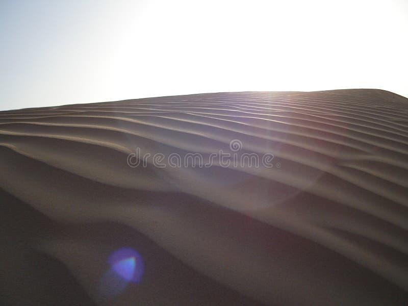 Fusée dans le désert photographie stock libre de droits