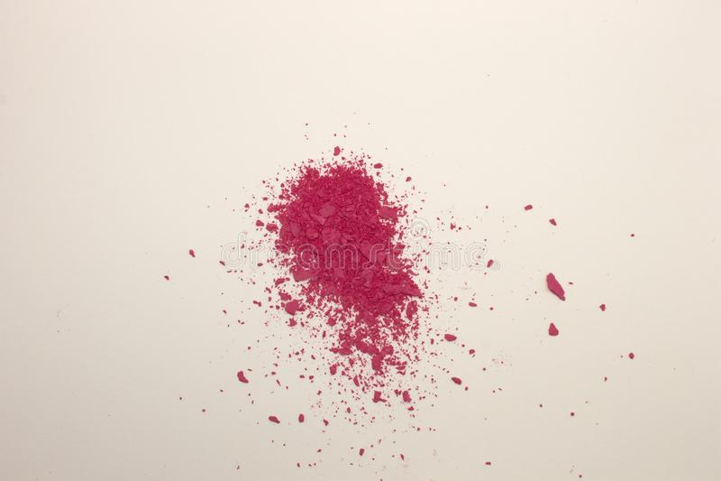 Fuschia Pink-Pulver Rouge stockfotos