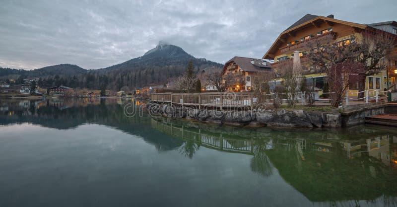 Fuschl am vê, Áustria fotos de stock royalty free