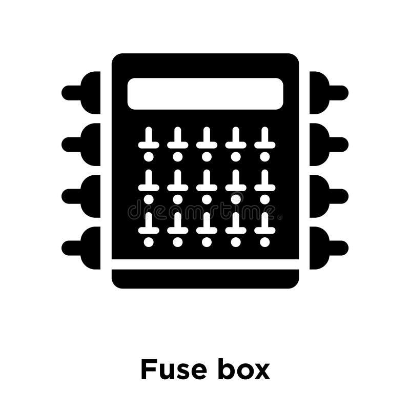 Fuse Box Icon Vector Isolated On White Background Logo Concept Rhdreamstime: Fuse Box Icon At Gmaili.net