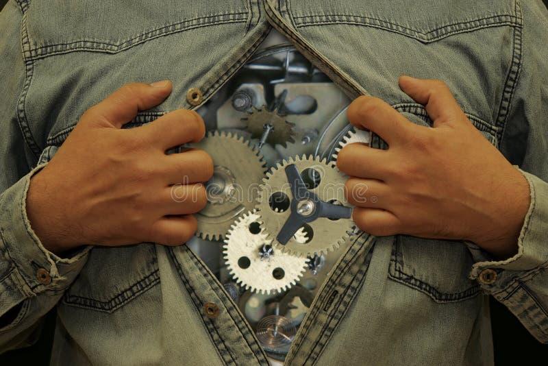 Fuselage-horloge photos libres de droits