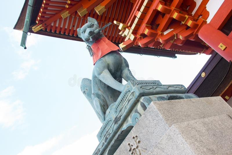 Fushimi稻荷Taisha寺庙,京都,日本 免版税图库摄影