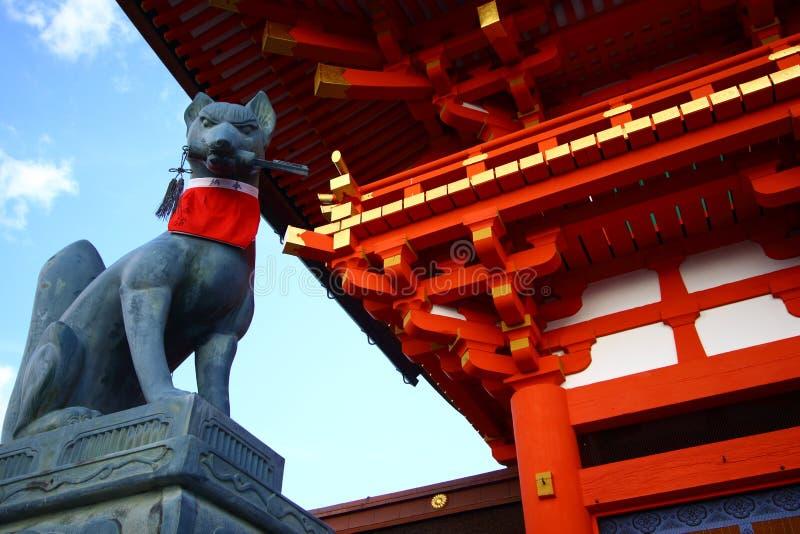 Fushimi Inari寺庙在日本 免版税库存图片