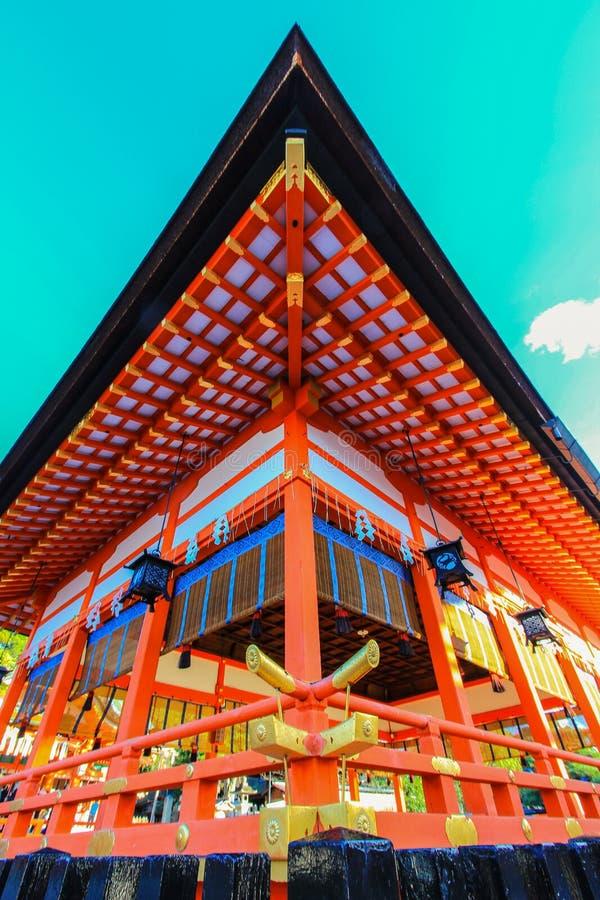 Fushimi Inari świątynia, Fushimi-ku, południowy Kyoto, Japonia zdjęcie stock
