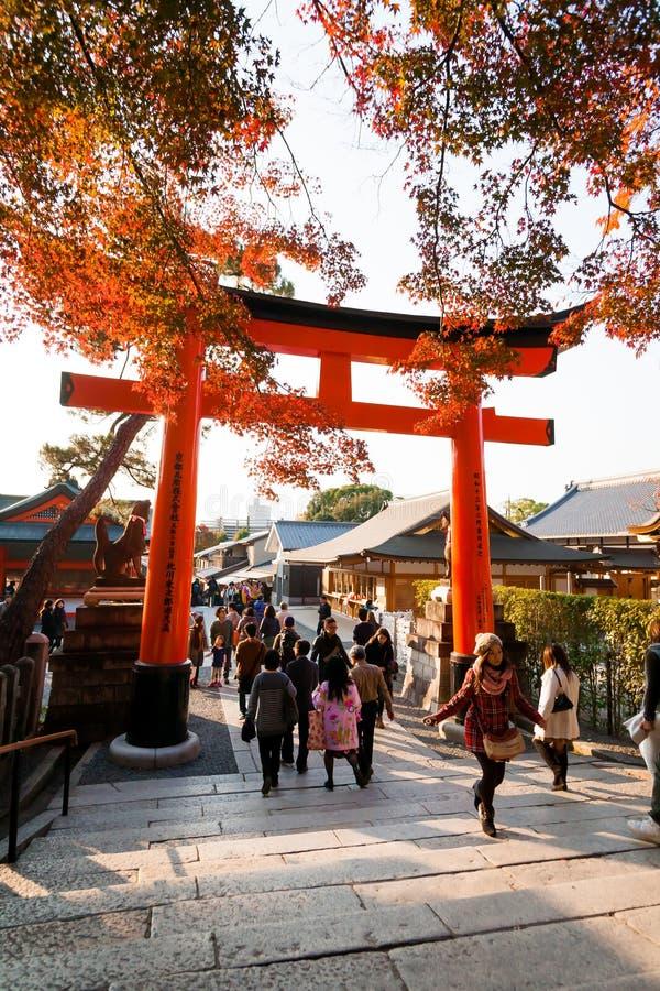 Fushimi Inari images stock