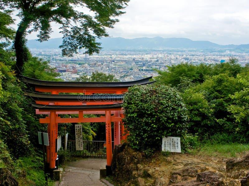 Fushimi Inari In Kyoto Royalty-vrije Stock Foto's