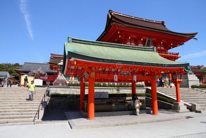 Download Fushimi Inari, Kyoto editorial stock image. Image of asian - 32684554