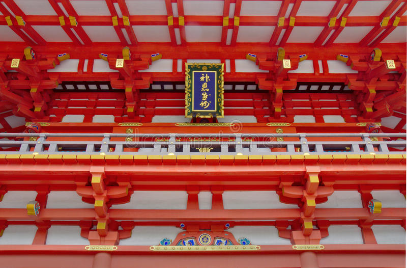 Fushimi Inari Shrine Detail stock photos
