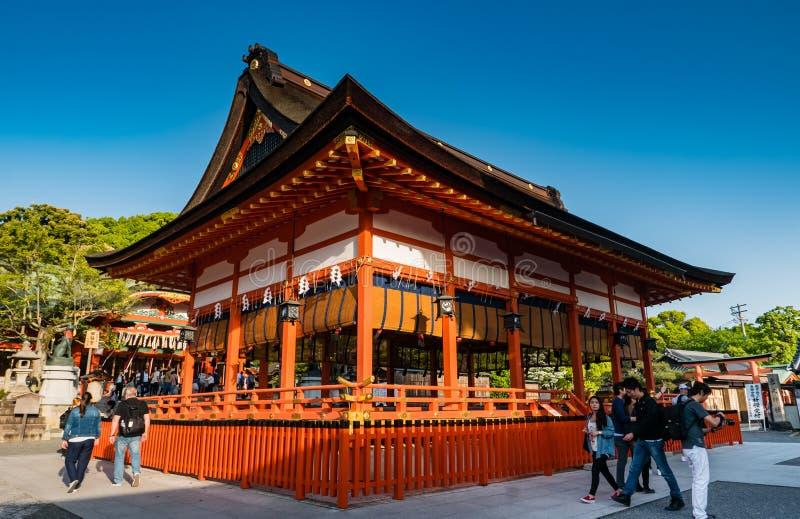 Fushimi Inari Taisha寺庙 免版税库存图片