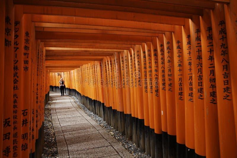 Fushimi Inari-taisha obrazy stock
