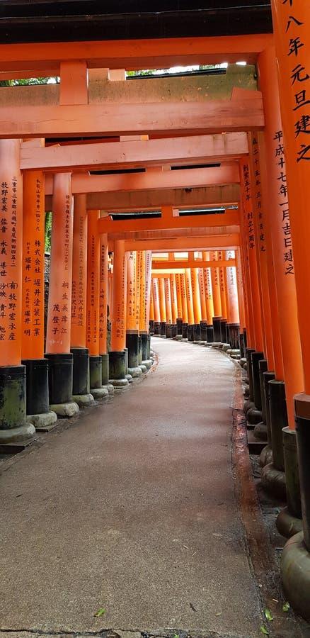 Fushimi Inari Taisha photos libres de droits