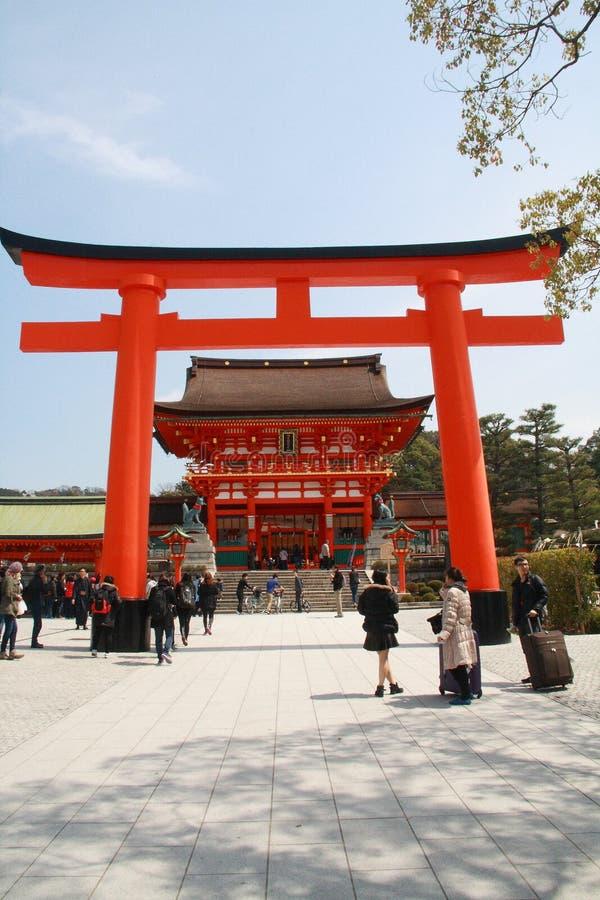 Fushimi Inari Taisha imagen de archivo libre de regalías