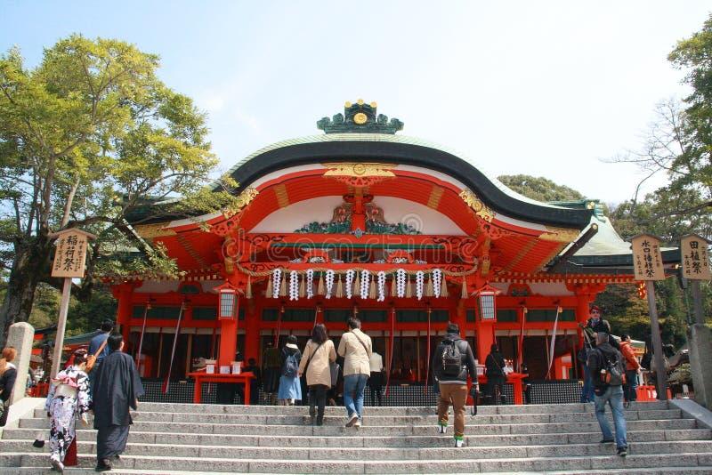 Fushimi Inari Taisha lizenzfreies stockbild