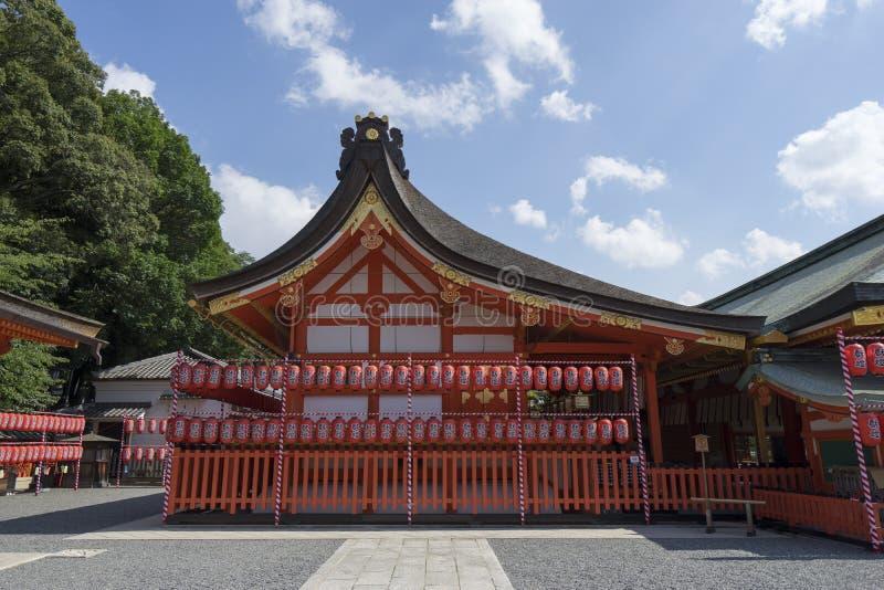 Fushimi Inari Taisha 1 arkivfoto