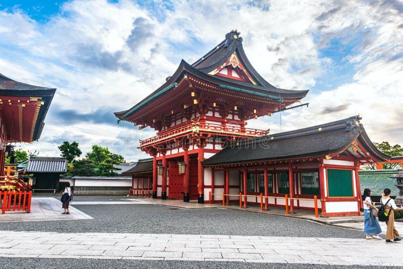 Fushimi Inari taisha, Kioto, Honshu, Japonia zdjęcie royalty free