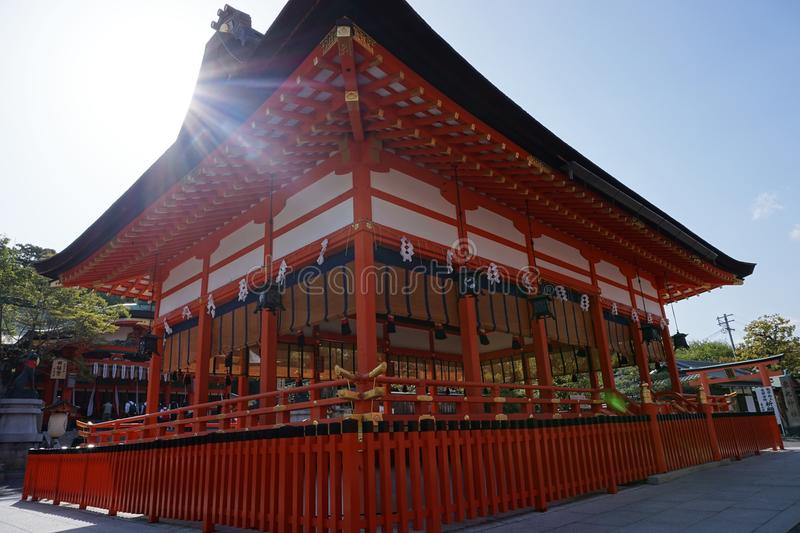 Fushimi- inari Taisha Shrine stock photo