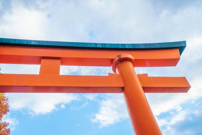 Fushimiinari Taisha ShrineTemple i Kyoto, Japan arkivbild