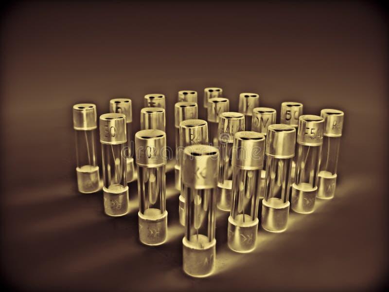 Fusible de cinco amperios, 250 voltios imagen de archivo libre de regalías