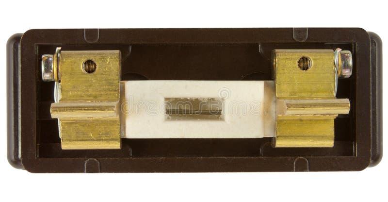 Fusible viejo 30 amperios imágenes de archivo libres de regalías