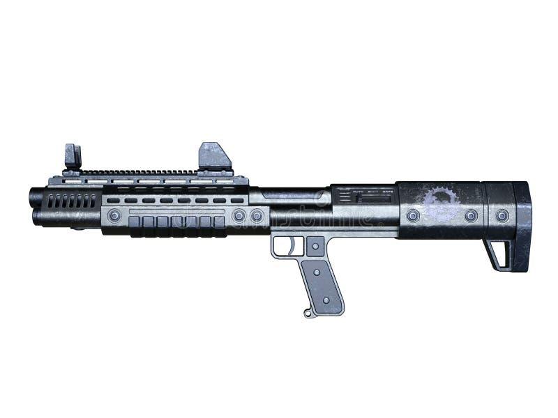 Fusil d'assaut illustration stock