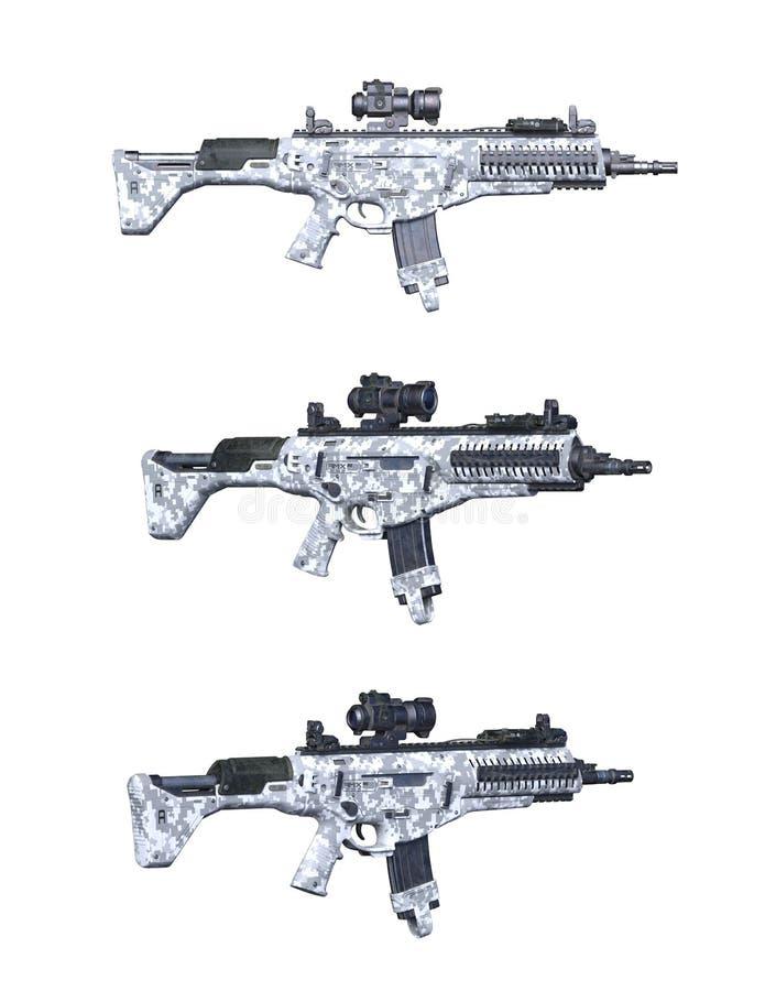 Fusil d'assaut illustration libre de droits