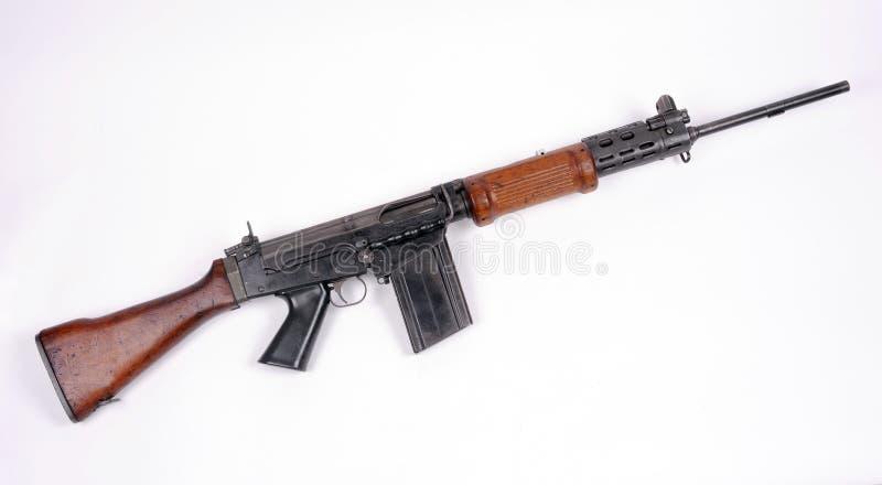 Fusil d'assaut israélien F-N FAL. photographie stock