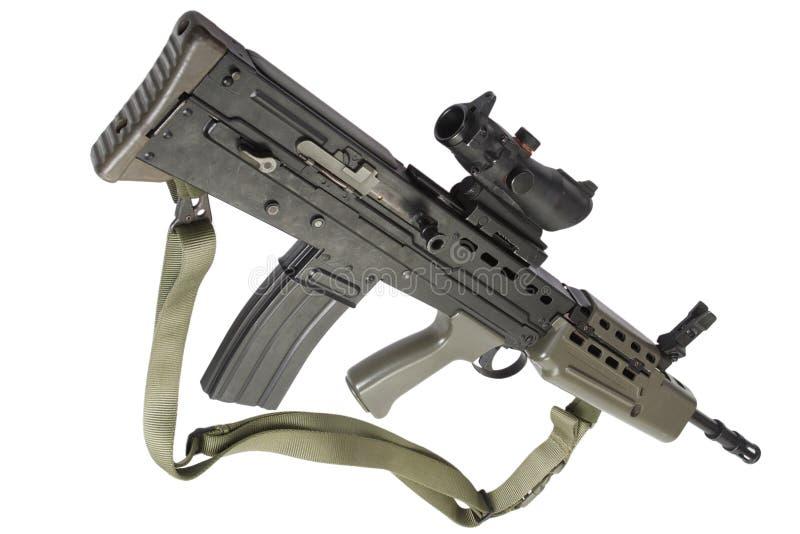 Fusil d'assaut L85 images libres de droits