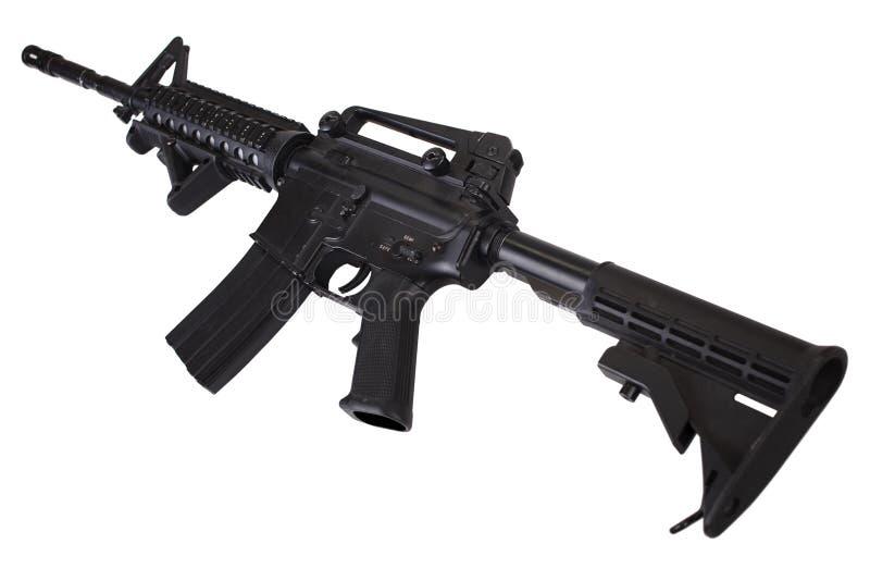 Fusil d'assaut M4 d'isolement photo stock
