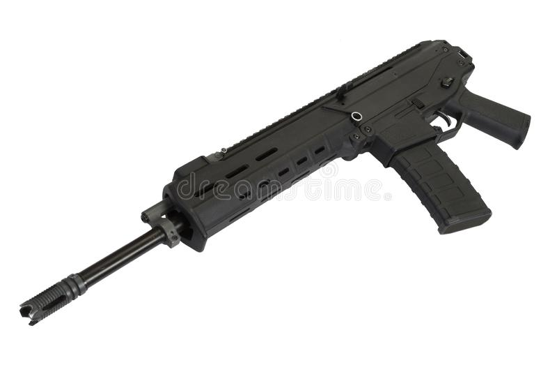 Fusil d'assaut moderne photos stock