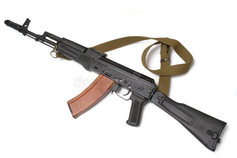 Fusil d'assaut russe AK-74 (kalachnikov) photo stock
