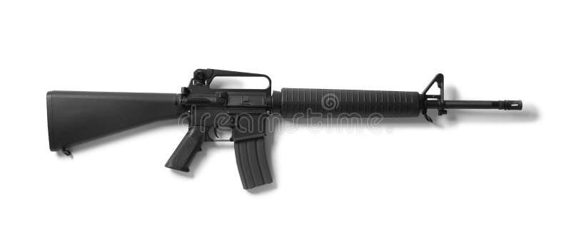 Fusil d'assaut sur le fond images stock