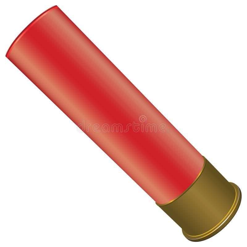 Fusil de chasse Shell illustration de vecteur