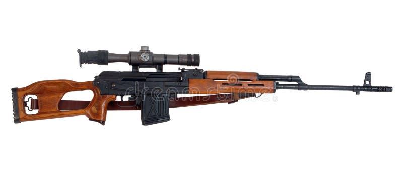 Fusil de tireur isolé images stock