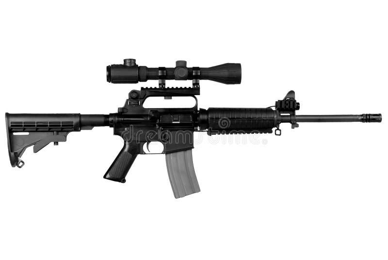 Fusil militaire image libre de droits