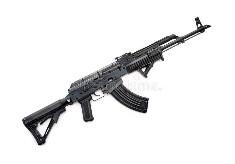 Download Fusil tactique d'AK-47 image stock. Image du armement - 76083345