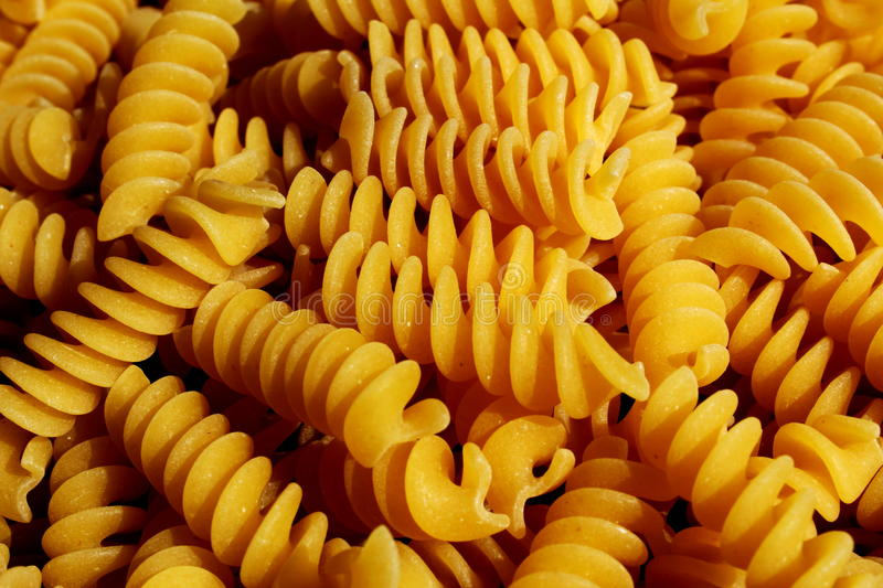 Download Fusilli italian pasta stock image. Image of cooking, solid - 89659819